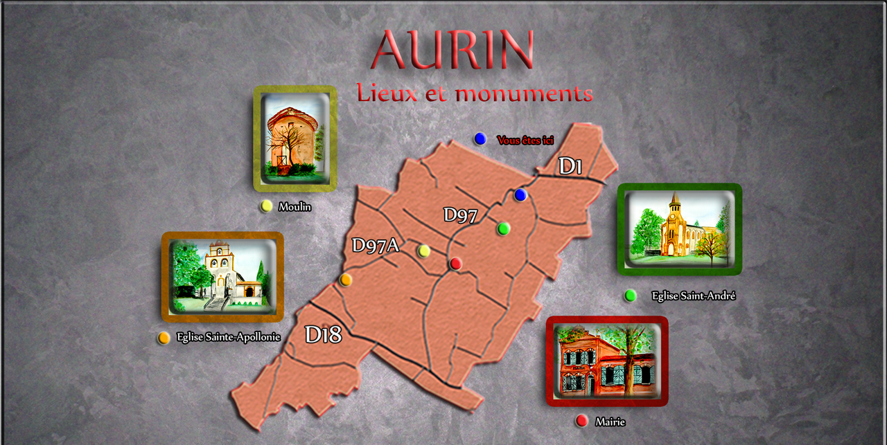 Patrimoine d'Aurin